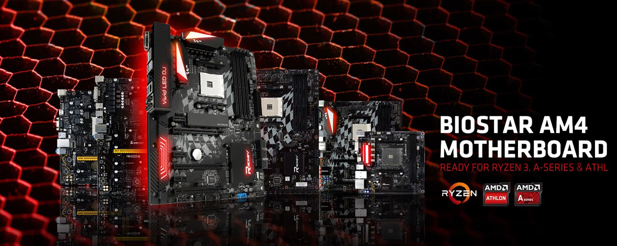 BIOSTAR RACING and PRO Series motherboards