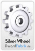 "Biostar TPOWER I55 received ""Silver Wheel"" Award on Awardfabrik, Germany:"