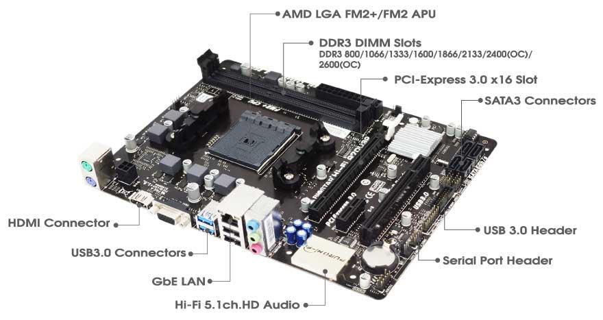 hi 6 1 amd socket motherboard gaming