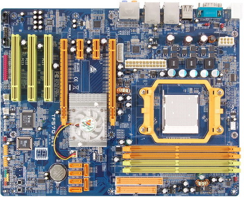 TF570 SLI AMD Socket AM2 gaming motherboard