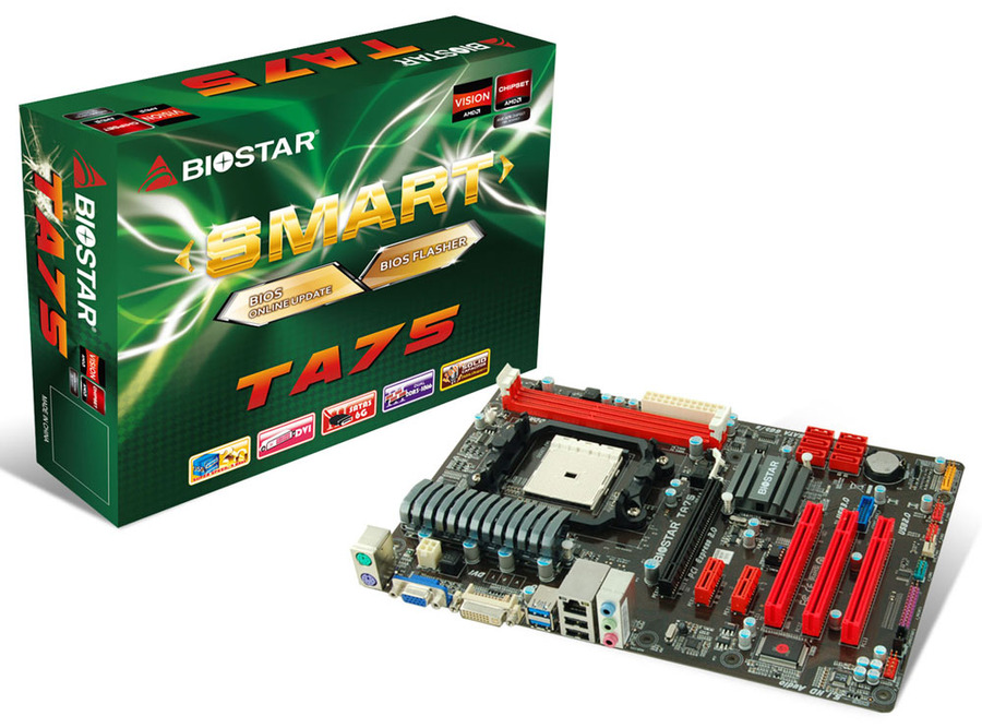 TA75 AMD Socket FM1 gaming motherboard