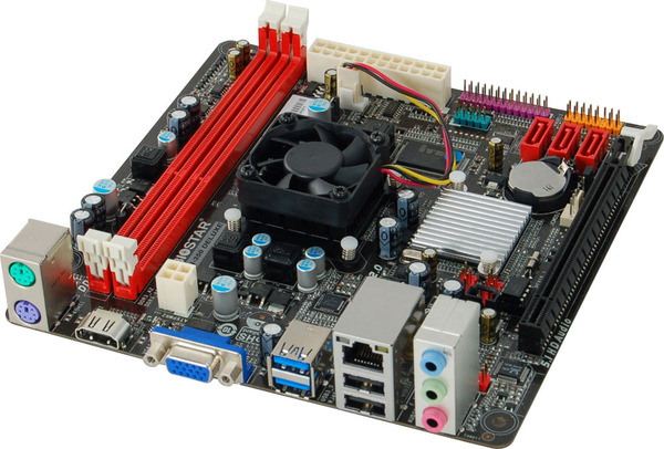 A68I-350 DELUXE AMD CPU onboard gaming motherboard