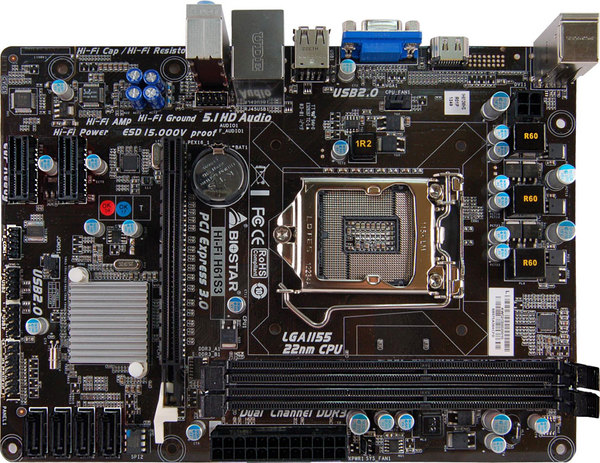 Hi-Fi H61S3 INTEL Socket 1155 gaming motherboard