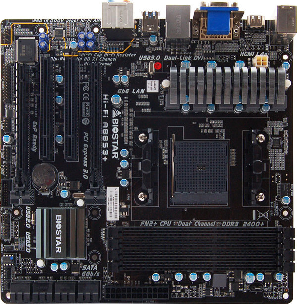 Hi-Fi A88S3+ AMD Socket FM2+ gaming motherboard