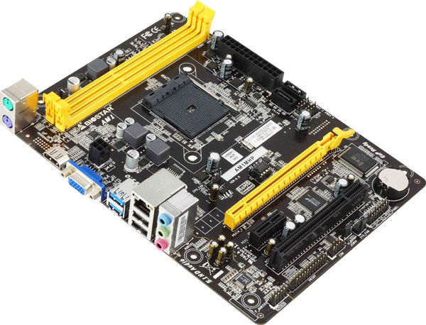 AM1MHP AMD Socket AM1 gaming motherboard