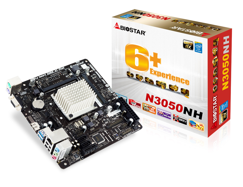 N3050NH INTEL CPU onboard gaming motherboard