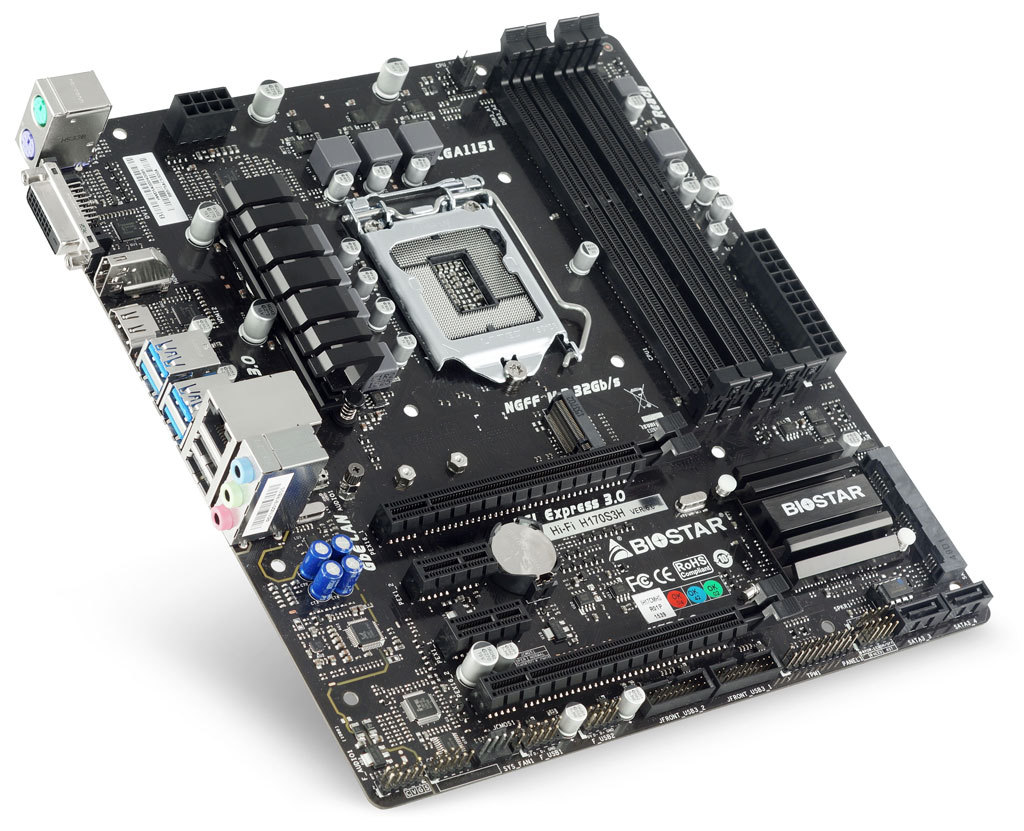 Hi-Fi H170S3H INTEL Socket 1151 gaming motherboard