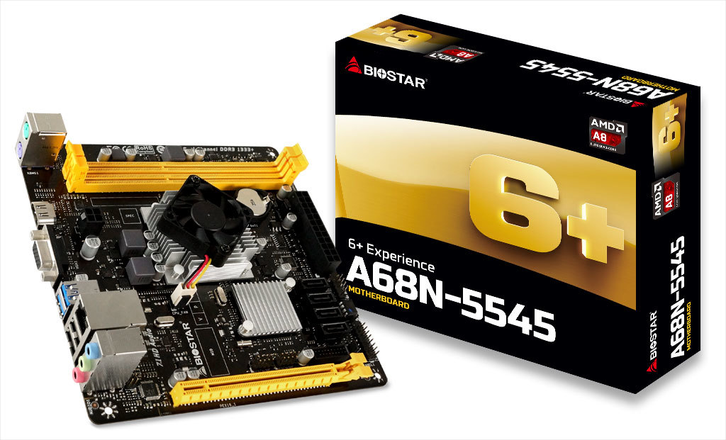 A68N-5545 AMD CPU onboard gaming motherboard