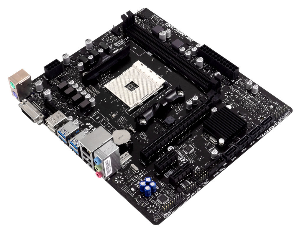 Hi-Fi B350S1 AMD Socket AM4 gaming motherboard