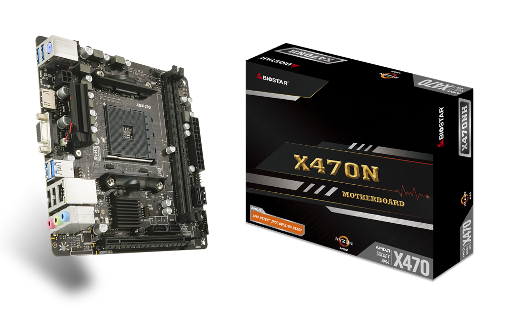 X470NH AMD Socket AM4 gaming motherboard