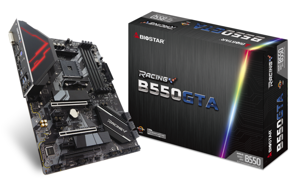 B550GTA AMD Socket AM4 gaming motherboard