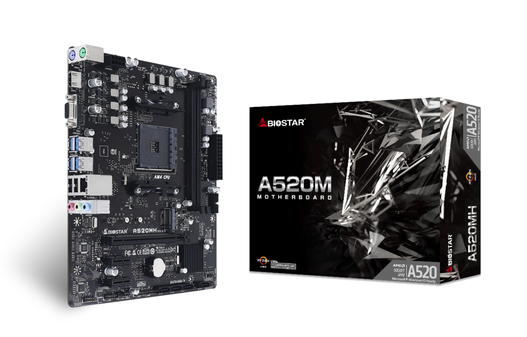 A520MH AMD Socket AM4 gaming motherboard