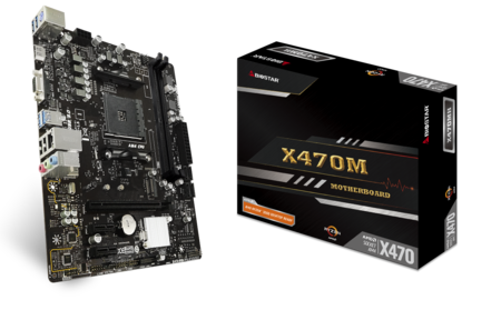 X470MH motherboard for gaming