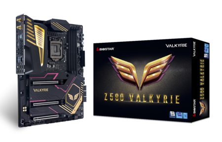 Z590 VALKYRIE motherboard for gaming