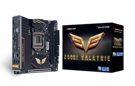 Z590I VALKYRIE motherboard for gaming
