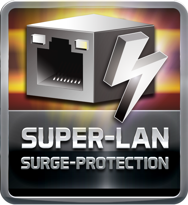 Super LAN Surge Protection