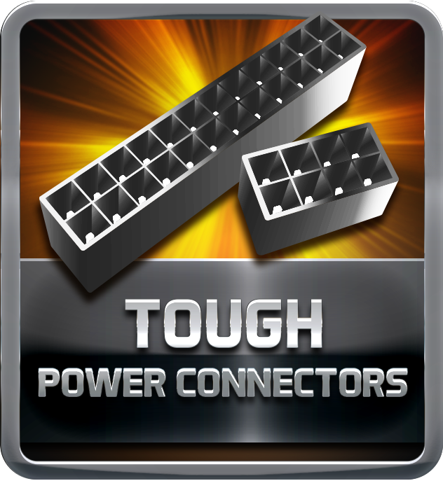 Tough Power  Connectors